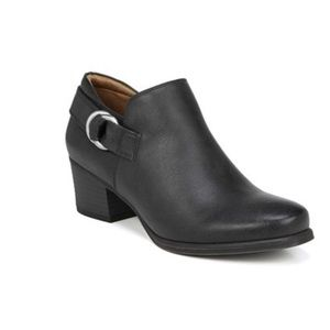 Natural Soul Women's Candie Black Ankle Boots